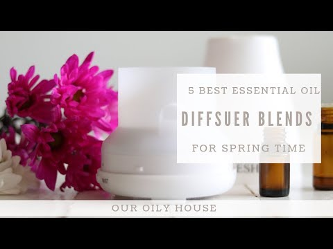 best-essential-oil-diffuser-blends-for-spring
