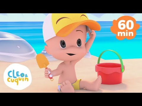Download Let's Go to the Beach and more Nursery Rhymes of Cleo and Cuquin   Children Songs