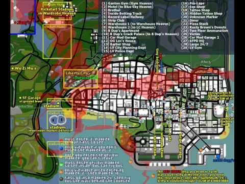Blue Hell Map of Gta San Andreas