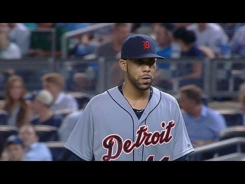 DET@NYY: Price fans 10, goes 8 2/3 in Tigers debut