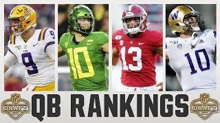 2020 NFL Draft QUARTERBACK RANKINGS | NFL Draft QB Rankings 2020