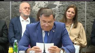 Dodik: Saradnja u Јugoistočnoj Evropi kompletna i sadržajna aktivnost