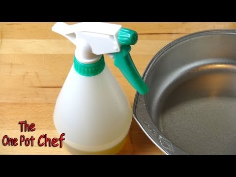 Quick Tips: Make Your Own Cooking Spray Oil | One Pot Chef