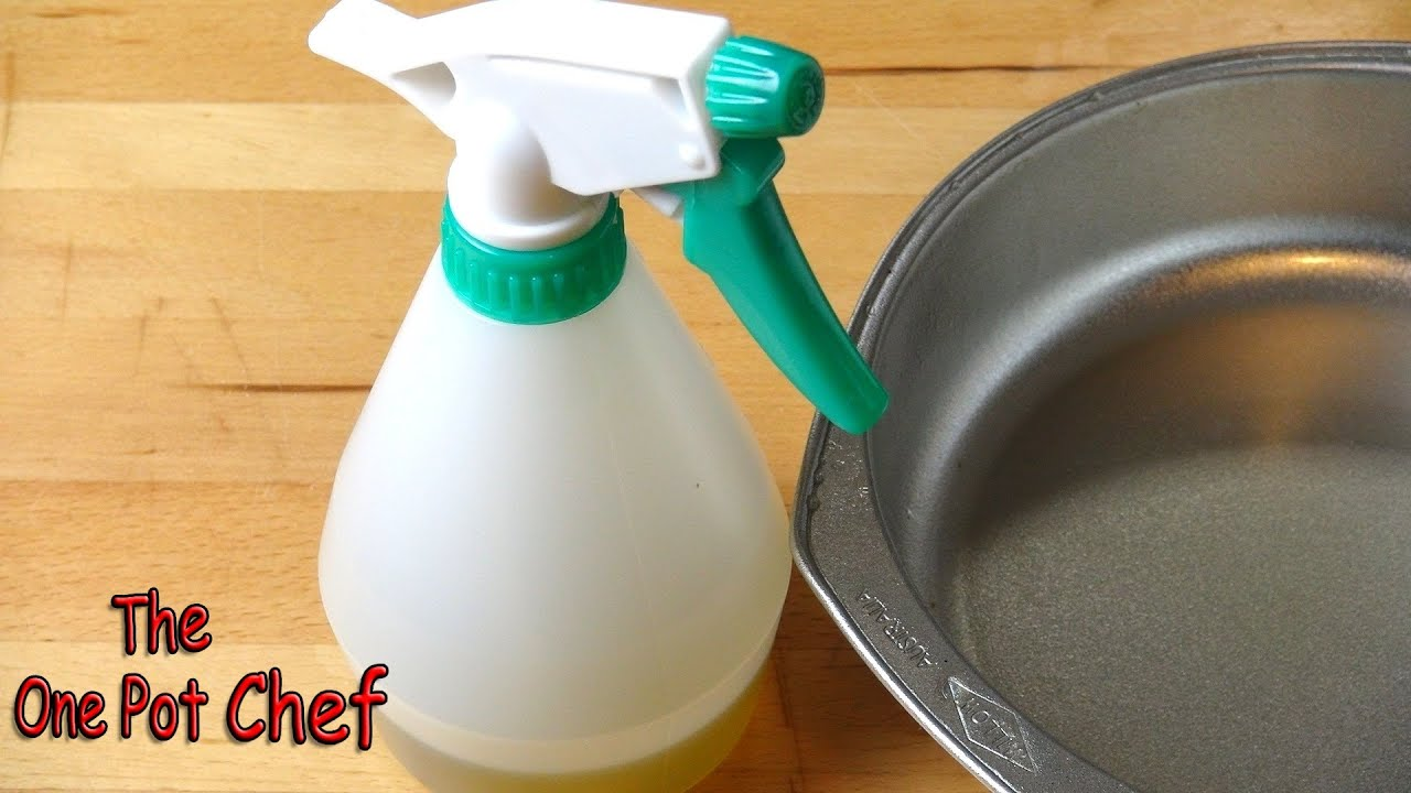 Quick Tips: Make Your Own Cooking Spray Oil