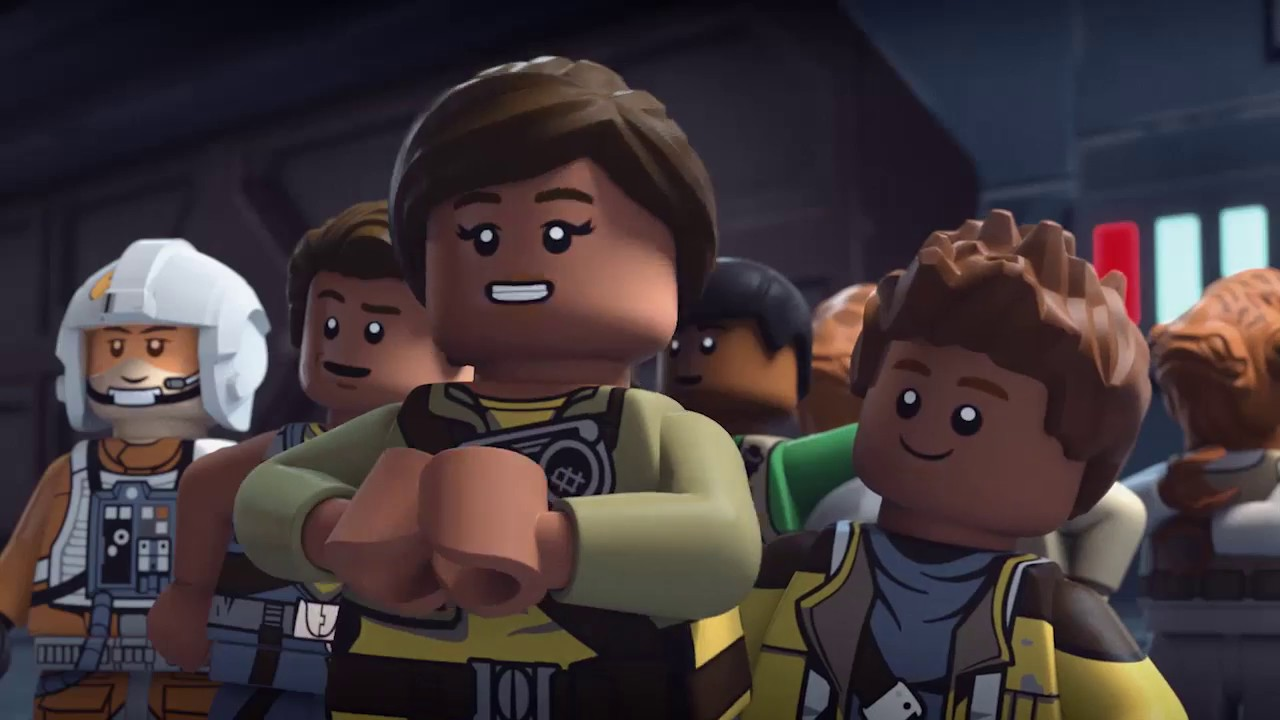 Thrown Into Battle - LEGO Star Wars Animated Series - Freemaker Adventures Short 2 - Roger saves the Rebel Fleet from certain destruction when he accidentally turns himself into a torpedo.