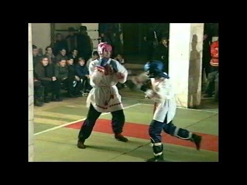Первенство по Славяно-горицкой борьбе в Кристалле Перун_1996-12-26