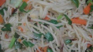 Veg Noodles | Restaurant Style | Recipe with English subtitles