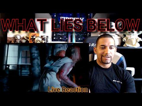 What Lies Below Movie Trailer REACTION! Sci-Fi Horror