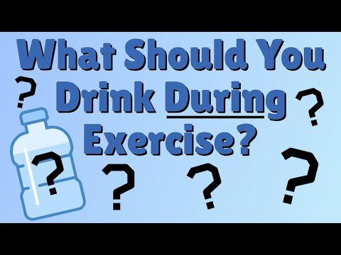 Should You Drink Water During Exercise or What? According to Science
