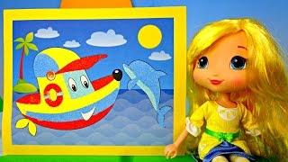 Кораблик из песка! Поделки! Видео для детей!(Иры с песком увлекают всех! А самые маленькие, могут играть с ним часам) Сегодня, куколка Лимоша, приготовила..., 2015-06-26T05:36:21.000Z)