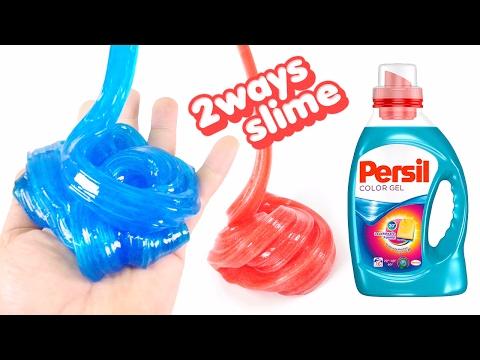 Persil Slime Jelly Monster ! 2ways to Make Slime | MonsterKids