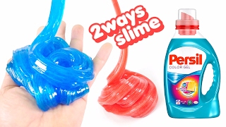 Persil Slime Jelly Monster ! 2ways to Make Slime | MonsterKids