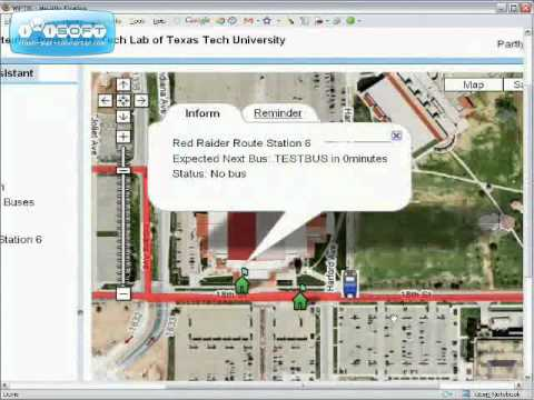 Web-Public Transit Information System (W-PTIS)