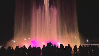 Поющие фонтаны в Сочи 2017 | Singing fountain. Sochi