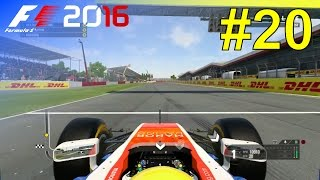 F1 2016 - Career Mode #20: British Grand Prix - 50% Race
