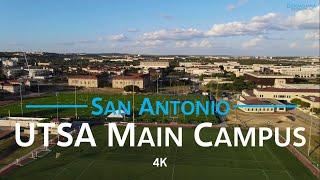 UTSA Main Campus - San Antonio, Texas 🇺🇸 | 4K drone aerial campus tour