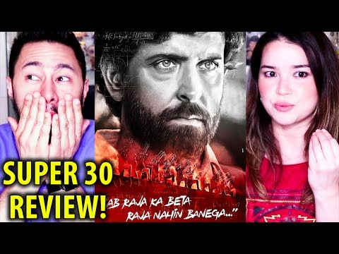 SUPER 30 | Hrithik Roshan | Movie Review by Jaby Koay & Achara! Mp3