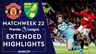 Manchester United v Norwich City  PREMIER LEAGUE HIGHLIGHTS  1112020  NBC Sports