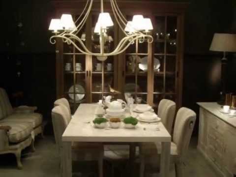 L mparas mesa comedor youtube - Mesas grandes de comedor ...