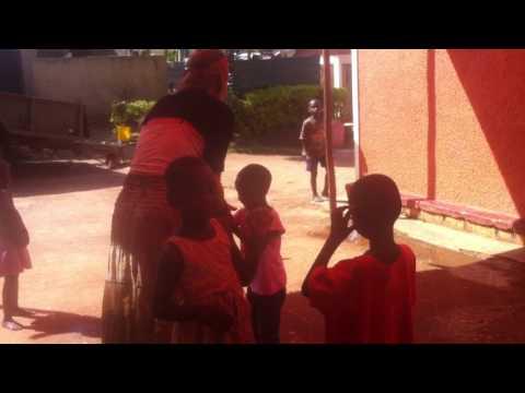 C4C Child Center, Kampala, Uganda (playing with water)