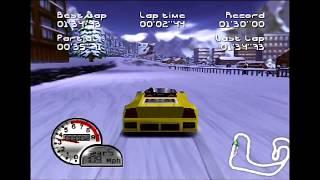 Roadsters  Gameplay All Tracks [N64]