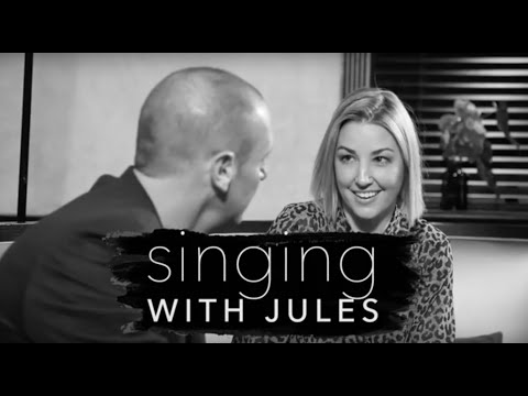 Singing with Jules - Larry Emdur and Jules Sebastian sing Guy Sebastian's Angels Brought Me Here