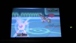 Pokemon XY Wifi Battle #01 (vs Scooty96) LIVE
