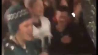 Philly Madness After Eagles Win!