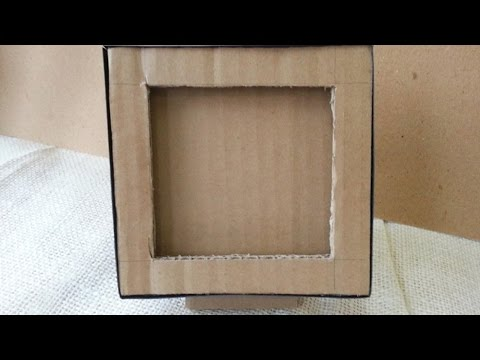 How To Make a Cardboard Photo Frame - DIY Home Tutorial - Guidecentral