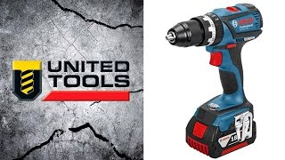 Bosch 18v Brushless Compact Drill Gsb 18v Ec Gsr 18v Ec Metal Chuck Dynamic Series Youtube
