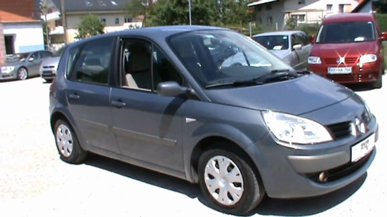 2007 renault scenic 1 5 dci dynamique full review start up. Black Bedroom Furniture Sets. Home Design Ideas