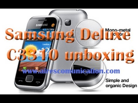 Samsung Champ Deluxe unboxing