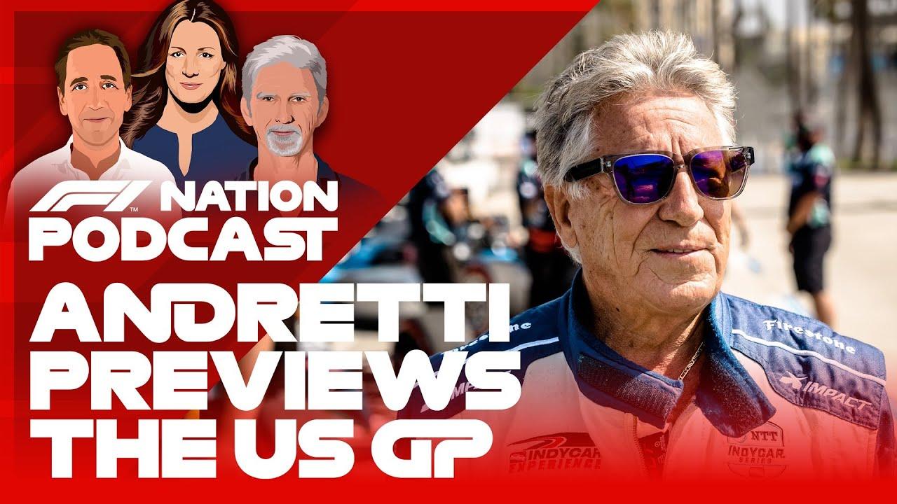 Mario Andretti Stars For United States Grand Prix Preview | F1 Nation Podcast