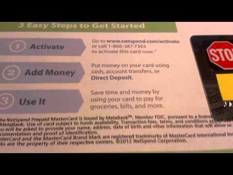 NetSpend Debit Card Review