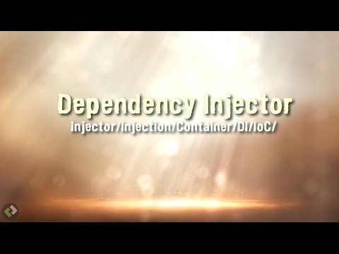 PHP Dependency Injection Pattern - DI IoC Injector Container