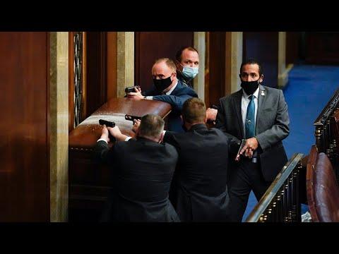 Mike Pence evacuated, Washington placed under lockdown as pro-Trump protestors storm U.S. Capitol