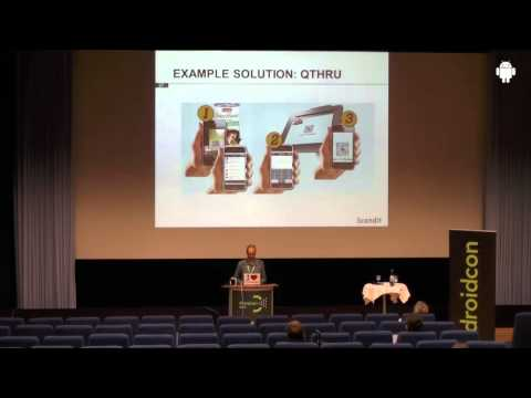 droidcon 2013: Democratizing Business Processes with Android Devices; Christof Roduner, Scandit