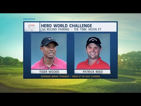 Morning Drive: Tiger Woods paired with Patrick Reed for Hero World Challenge | Golf Channel