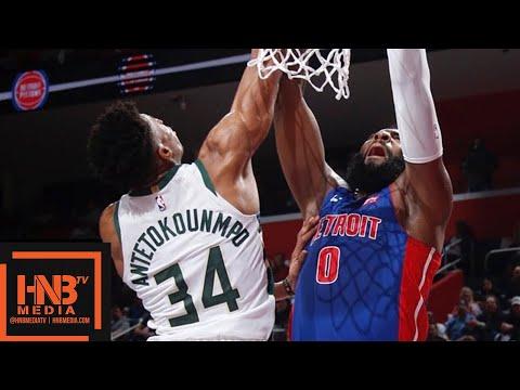 Milwaukee Bucks vs Detroit Pistons - Game 4 - Full Game Highlights | April 22, 2019 NBA Playoffs