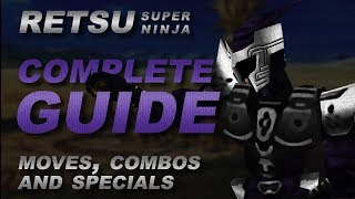 Dual Heroes - RETSU COMPLETE GUIDE (moves, combos and specials!) [Texture Mod]