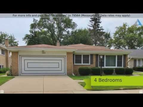4 Bedroom Homes For Sale in Des Plaines, IL 60016 in Craig Manor with Maine West High