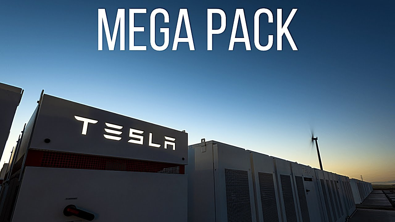 How Tesla's Colossal Battery Mega Pack will Power the Future !