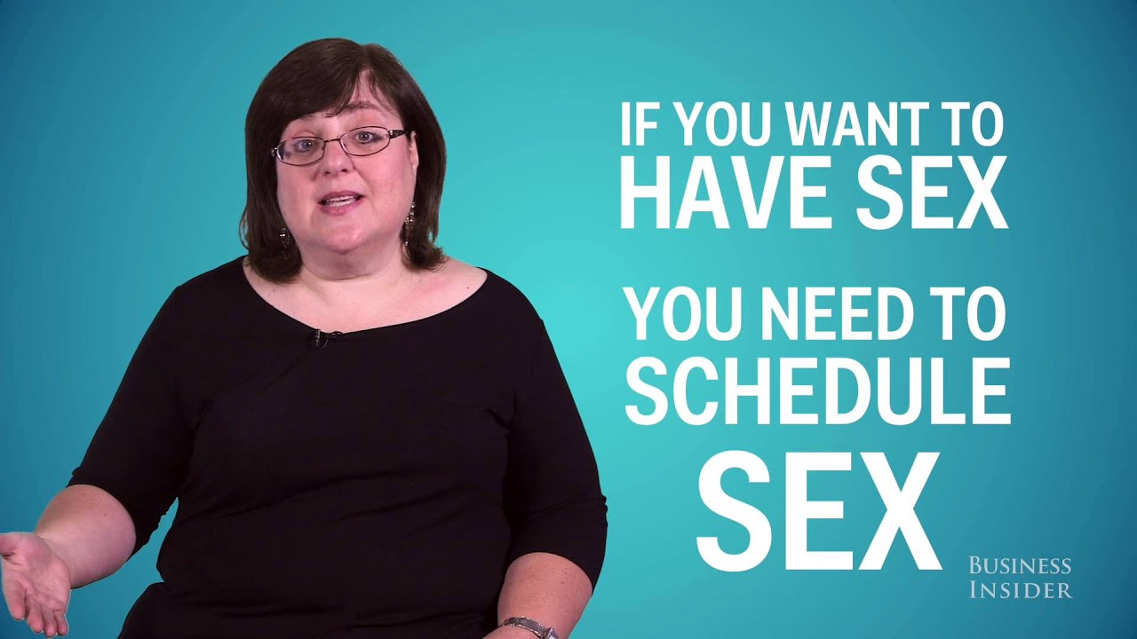How better sex scheduling sex relationship