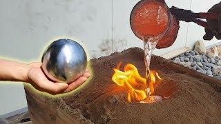 알루미늄 호일 아닌 쇠구슬 만들기