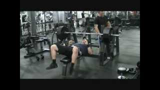 L.A. BEAST- 405 Bench Press - (Shake Weight Edition)