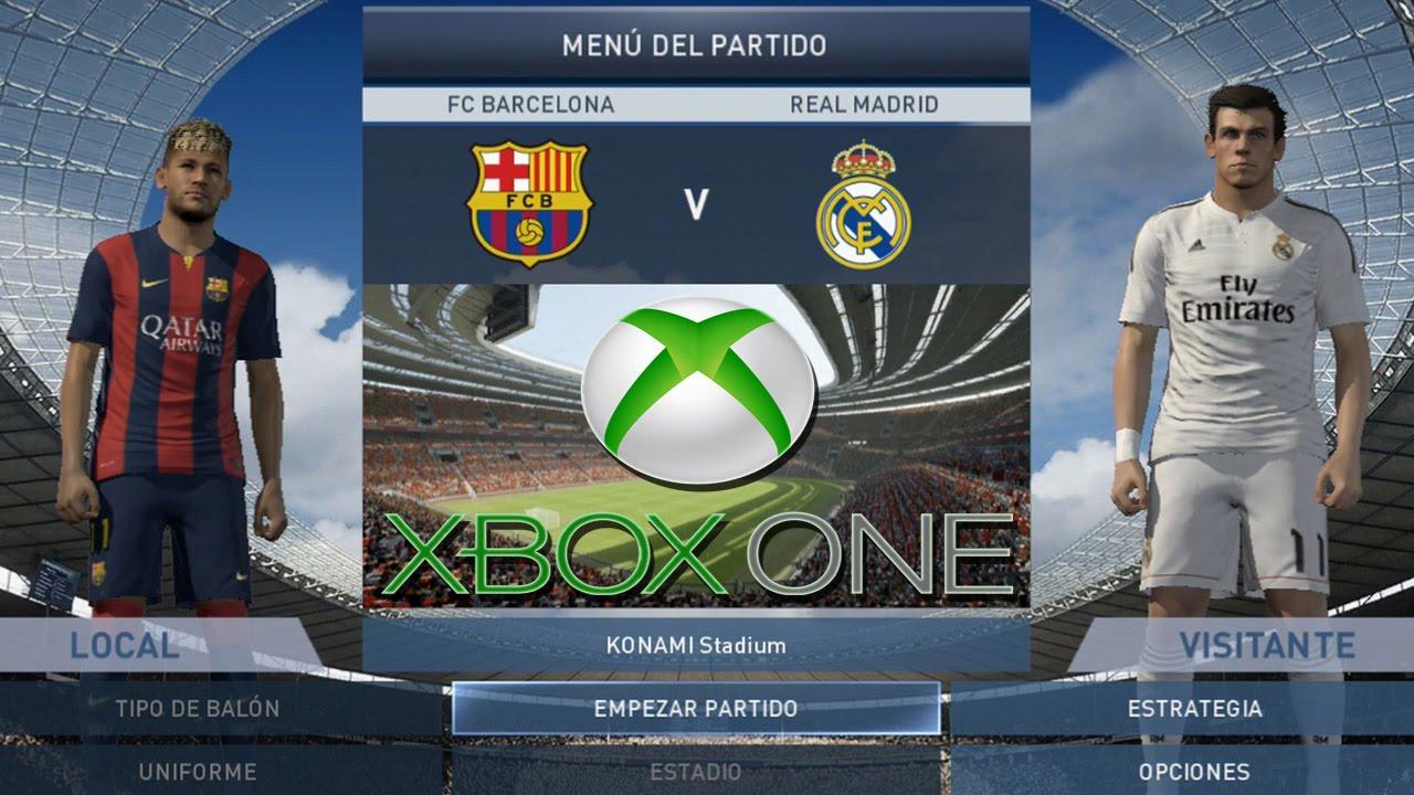 Pes 2015 Real Madrid Vs Barcelona Xbox