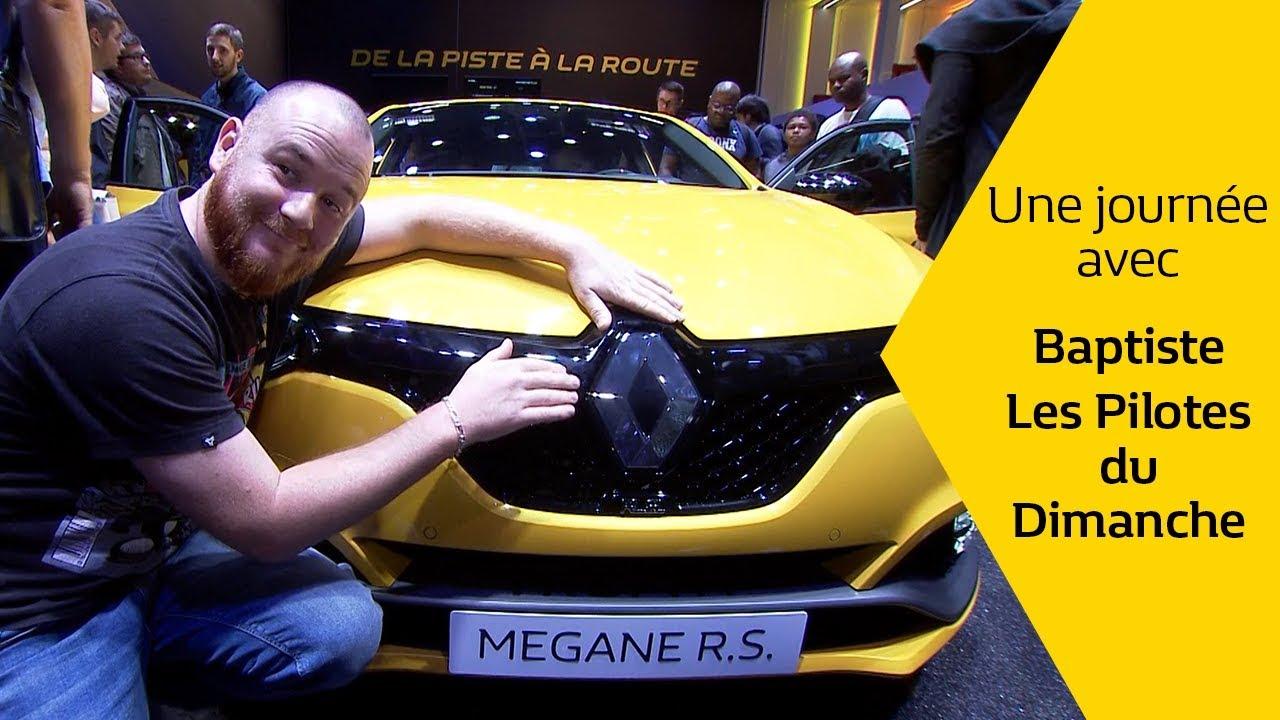 Conduire une MEGANE R.S. TROPHY sur le Mondial de l'Auto ? DONE !