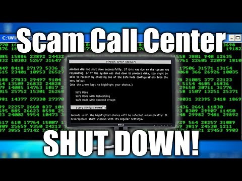 SHUTTING DOWN A Tech Support SCAM CALL CENTER | Tech Support Scammers EXPOSED!