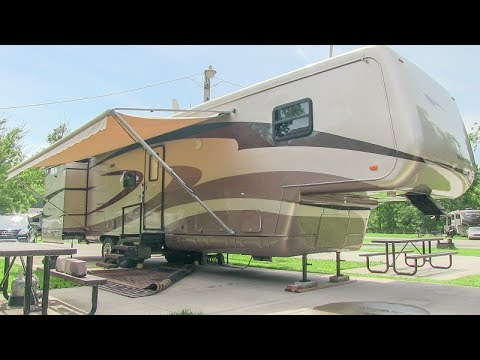 2003 Newmar Mountain Aire 39SDTS luxury 5th wheel camper walk-around tutorial video