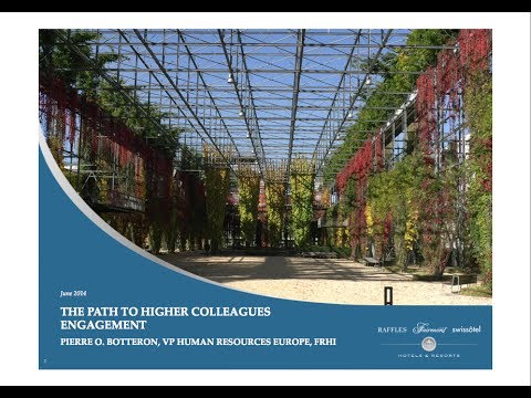 The Path to High Colleagues Engagement - Pierre O. Botteron